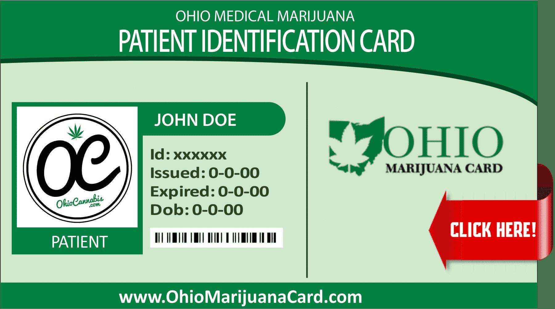 OhioMarijuanaCard.com Patient Card 2
