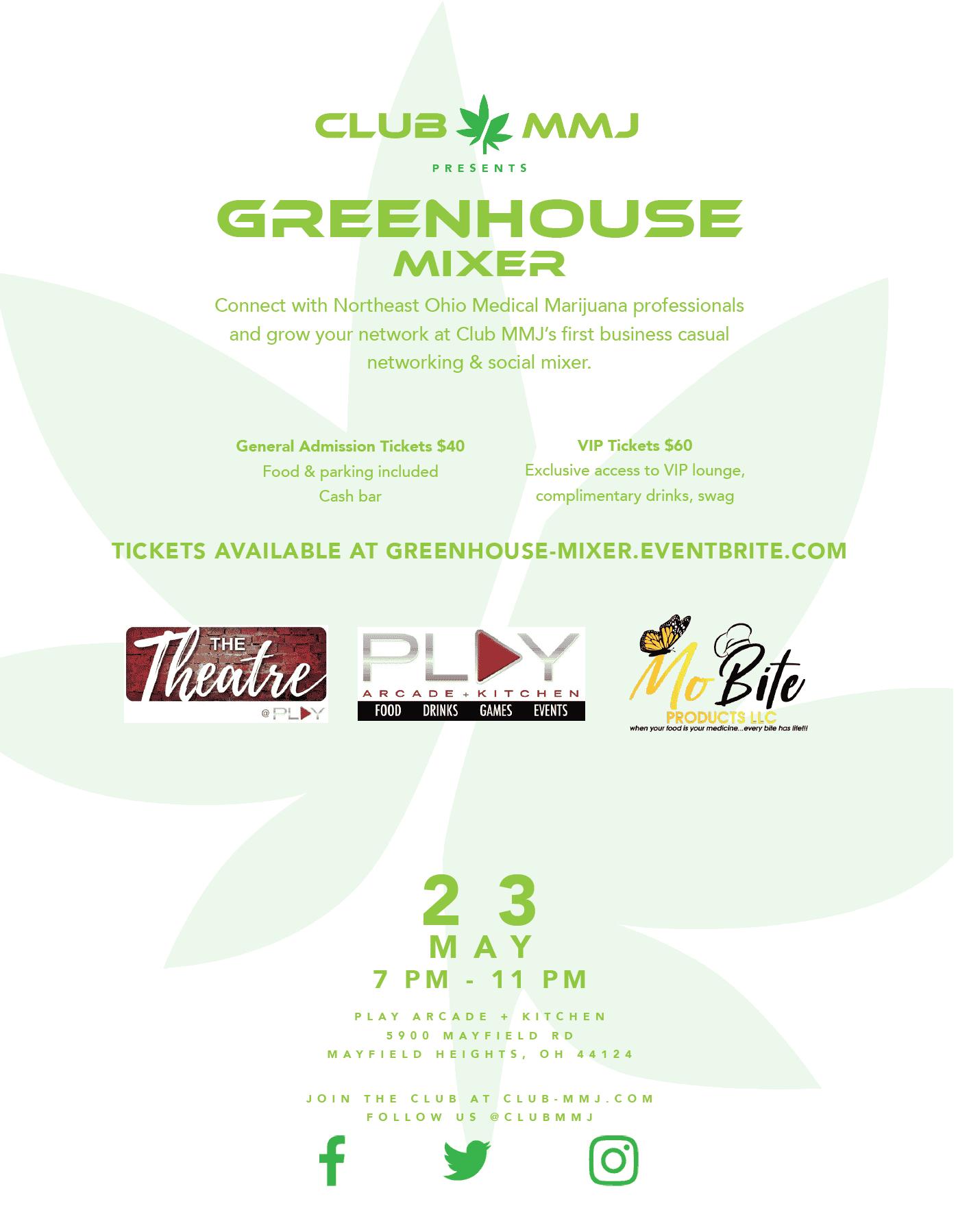 ClubMMJ Greenhouse Mixer - Cleveland