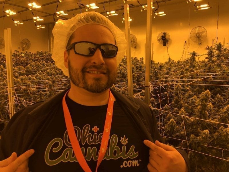 Johnny at GrowOhio Flower Room