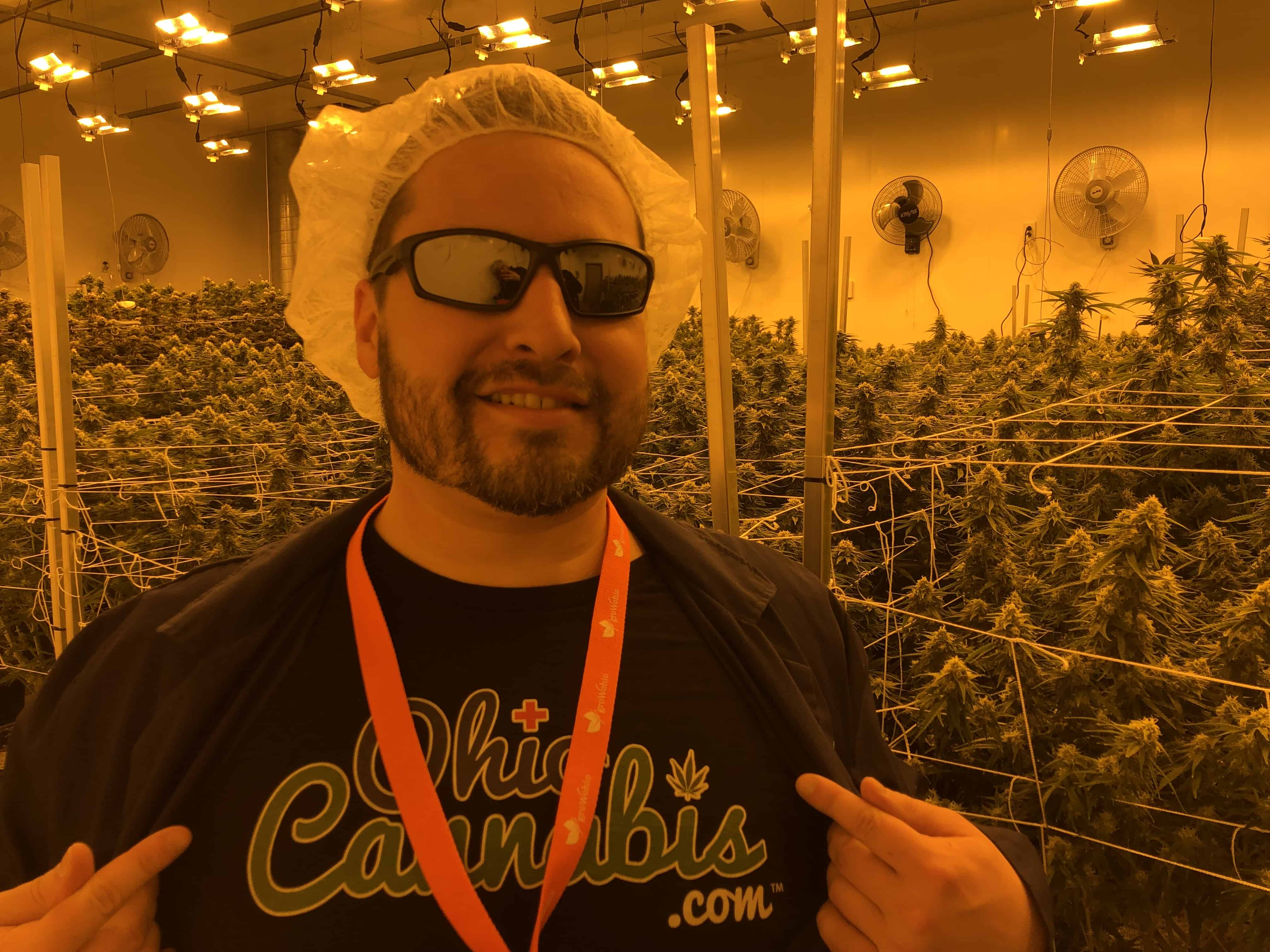 Johnny at GrowOhio Flower Room