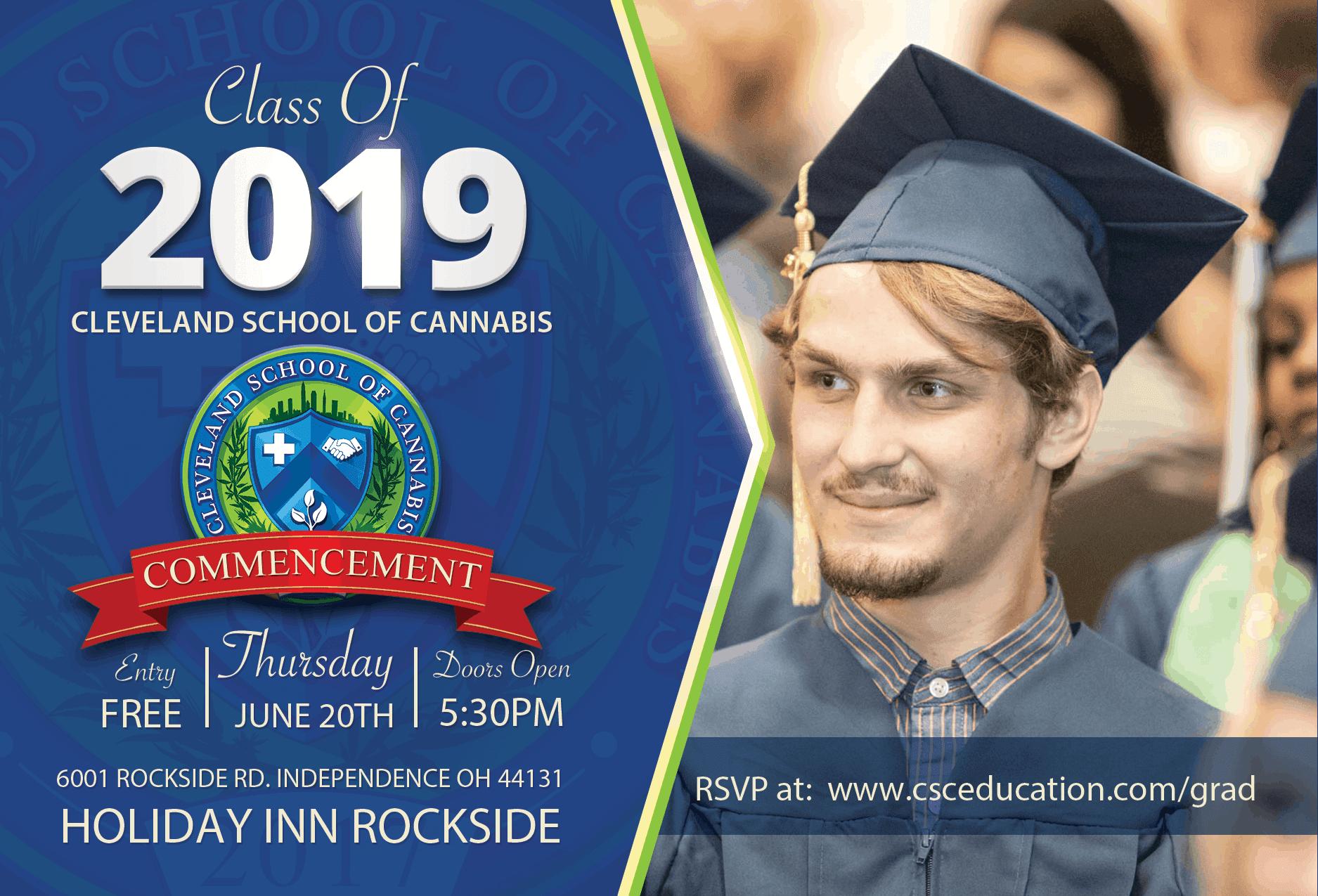 Cleveland School of Cannabis Graduation June 2019