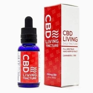 CBD Living Tincture Bottle (250mg)